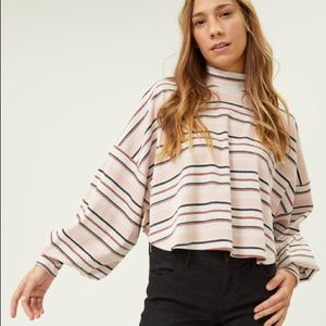 NEW Free People Steph Tee Pink XS